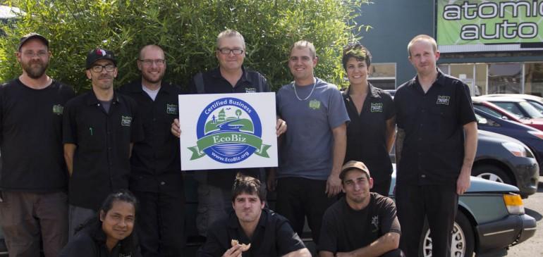 Atomic Auto – EcoBiz Certified