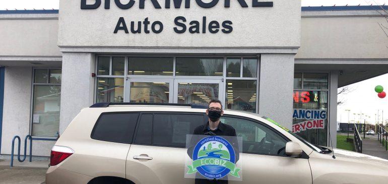 Bickmore Auto Sales – EcoBiz Certified