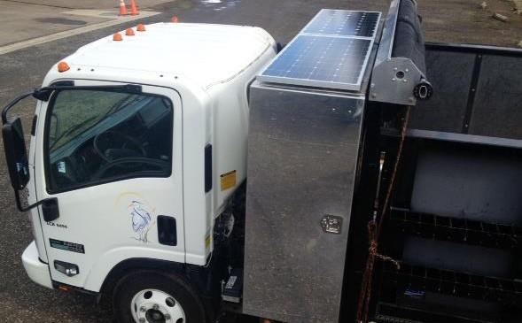 solar truck